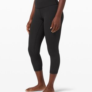 Lululemon Wunder Under Mid Rise Crop